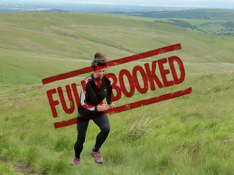 Fell Running Fully Booked